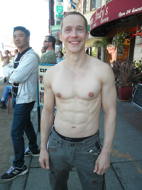 101 HOT MAN CHESTS / PECS ! ! # 87 ! ( safe photo ) (50+ faves)