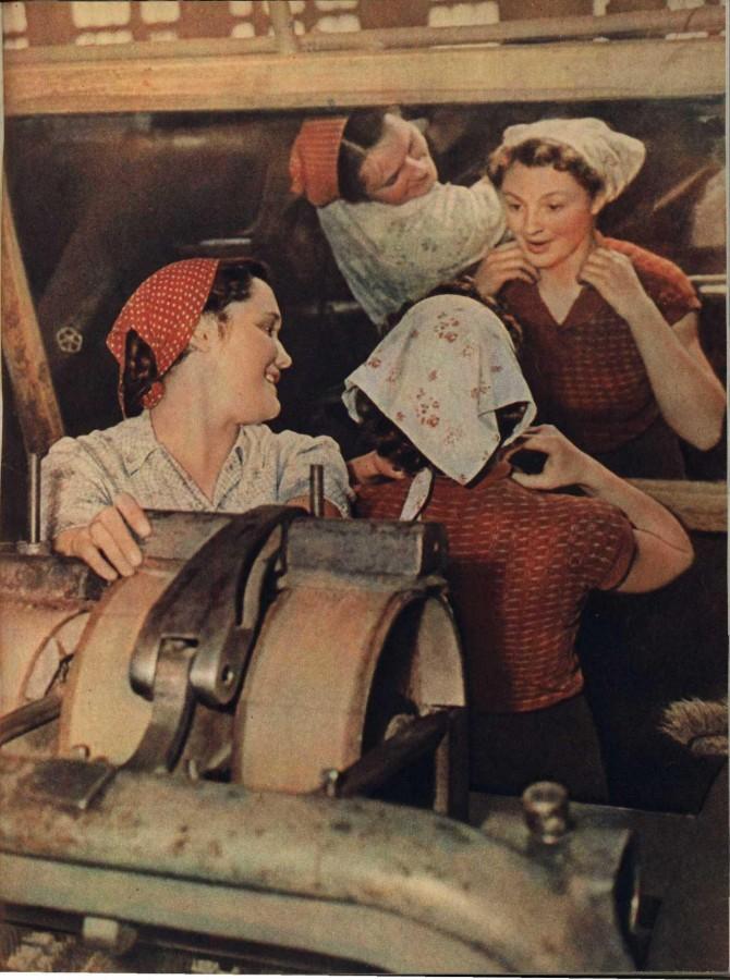 Из серии «Рабочая краса или как выглядели рабочие девушки в СССР». Часть 6 22