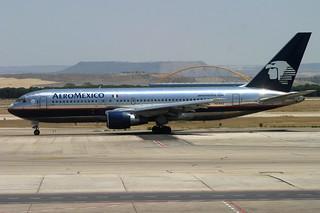 XA-RVZ. B-767/200. AeroMexico. MAD.