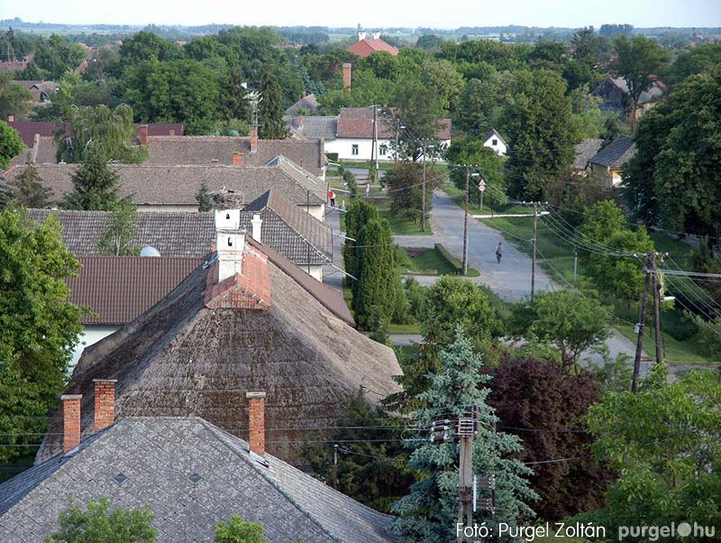 Kilátás a templomtoronyból
