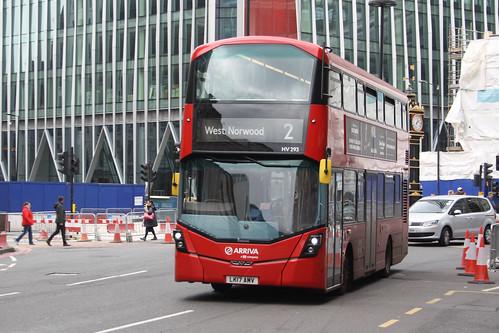 Arriva London HV293 LK17AMV
