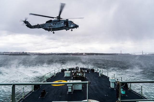 CH-148 Cyclone at Sea