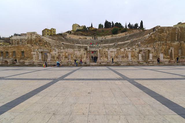 Roman Theatre of Amman, Jordan,  129