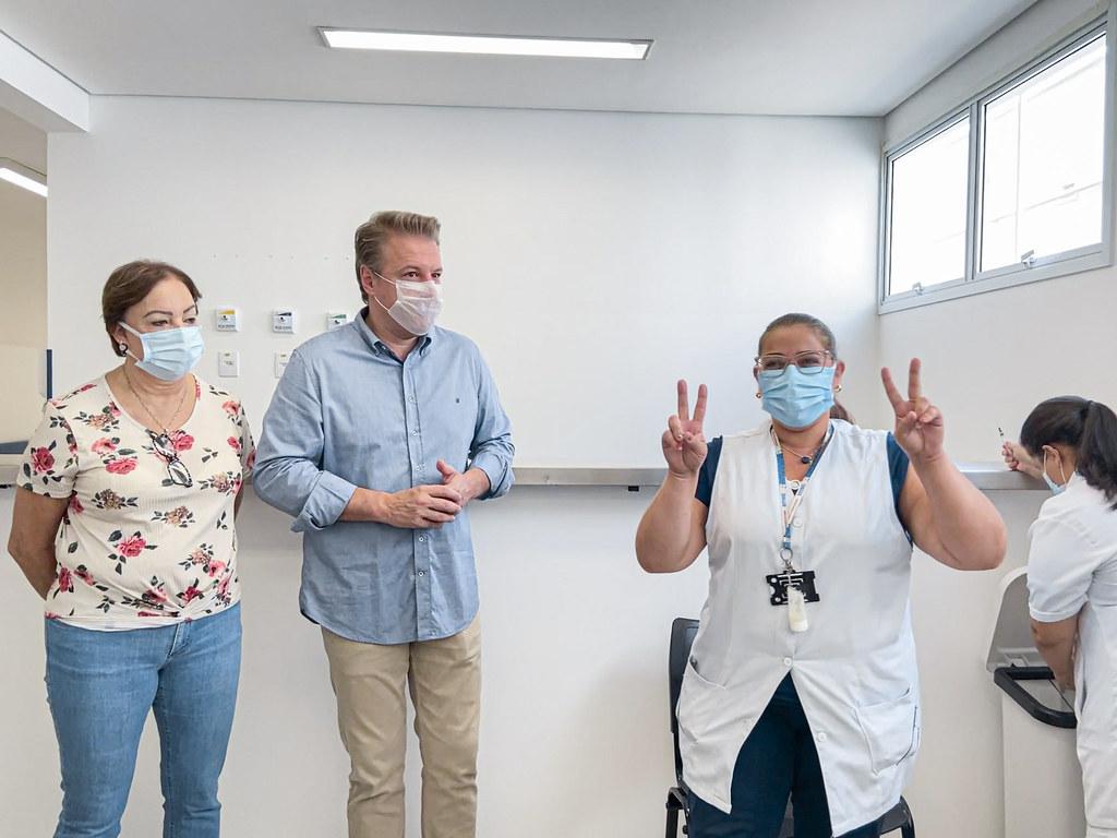 (2021.01.20) Iniciada a Vacinação em Itapevi