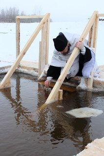 18.01.2021 | Освящение воды на водозаборе