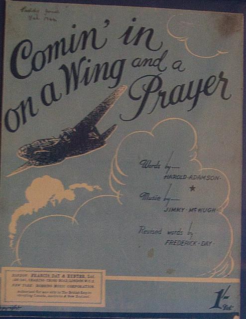 1940s Song.  Sheet music.