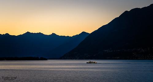 ascona lagomaggiore tessin sonnenaufgang sunrise lake see