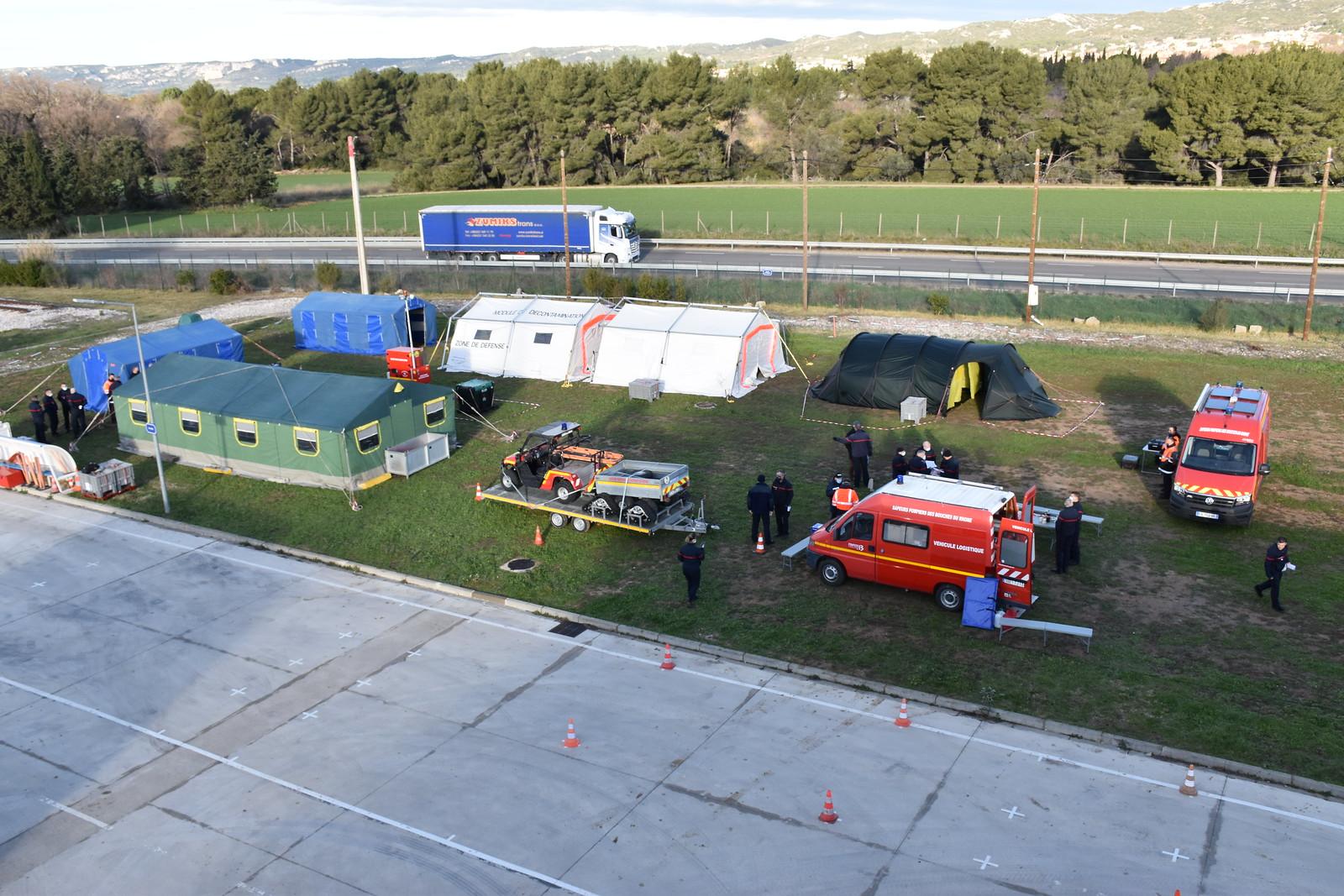 La cellule hébergement, un soutien de taille pour les Pompiers13