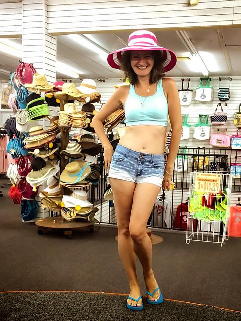 Iwona Hat Shopping