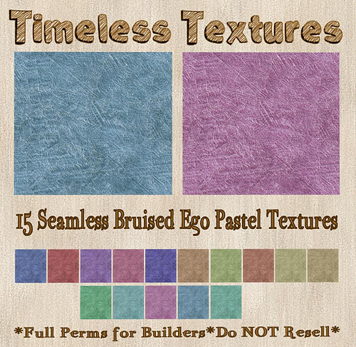 TT 15 Seamless Bruised Ego Pastel Timeless Textures