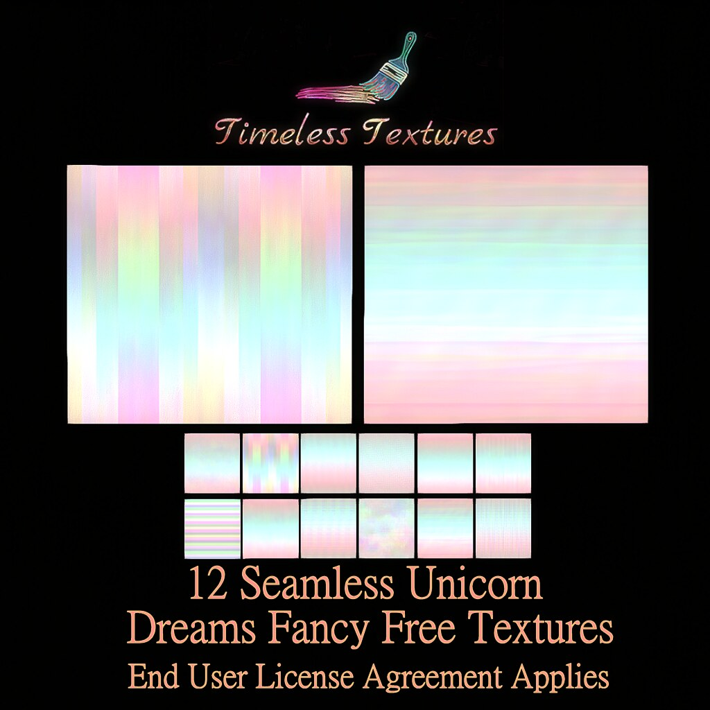 TT 12 Seamless Unicorn Dreams Fancy Free Timeless Textures