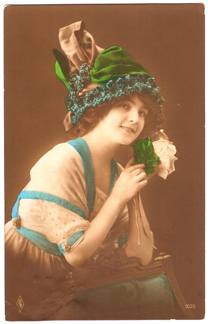 Girl With Green Hat in 1917. And 'Testament of Youth'.