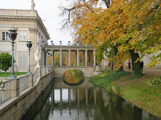 Palais Łazienki dit Palais sur l'Île - Parc royal de Łazienki, Varsovie