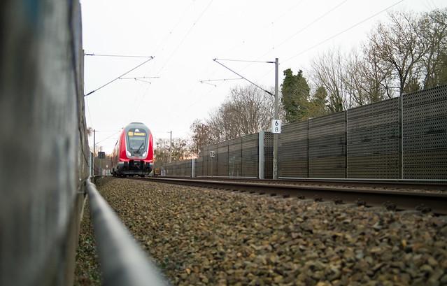 Regionalbahn DB Richtung Südkreuz 20.1.2021