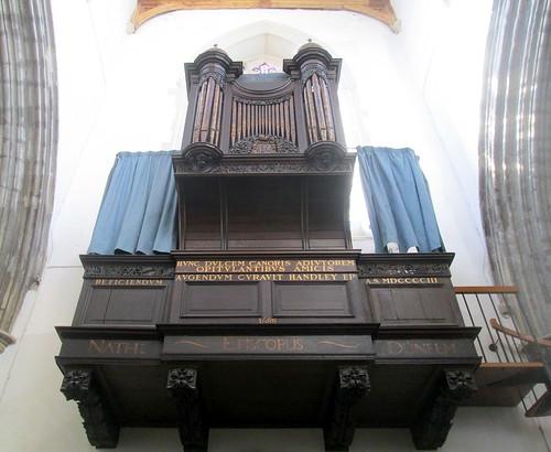 Auckland Castle, Organ in Chapel