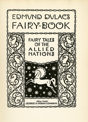 Edmund Dulac's Fairy-Book, title page