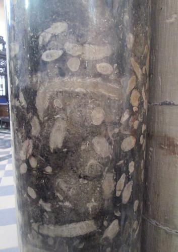 Marble Pillar, Auckland Castle, Chapel