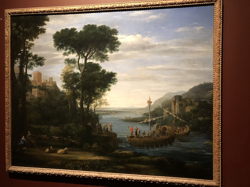 Landscape with the Arrival of Aeneas at Pallenteum, 1675