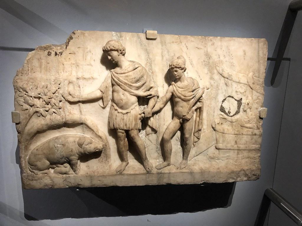 Aeneas Arrives in Italy