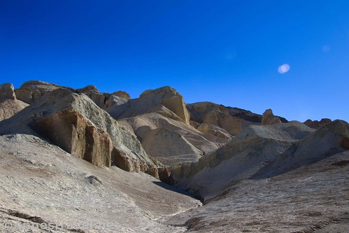 One of the side canyons off of 20 Mule Team Canyon, Death Valley National Park, California