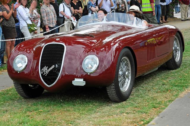 Alfa Romeo 6 C 2500 SS Corsa Touring Barchetta, 1947