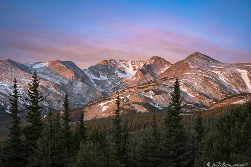 sunrise arapahopeaks southernrockymountains colorado