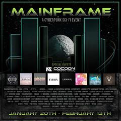 Mainframe Event - Jan 2021 - Full Designer Poster
