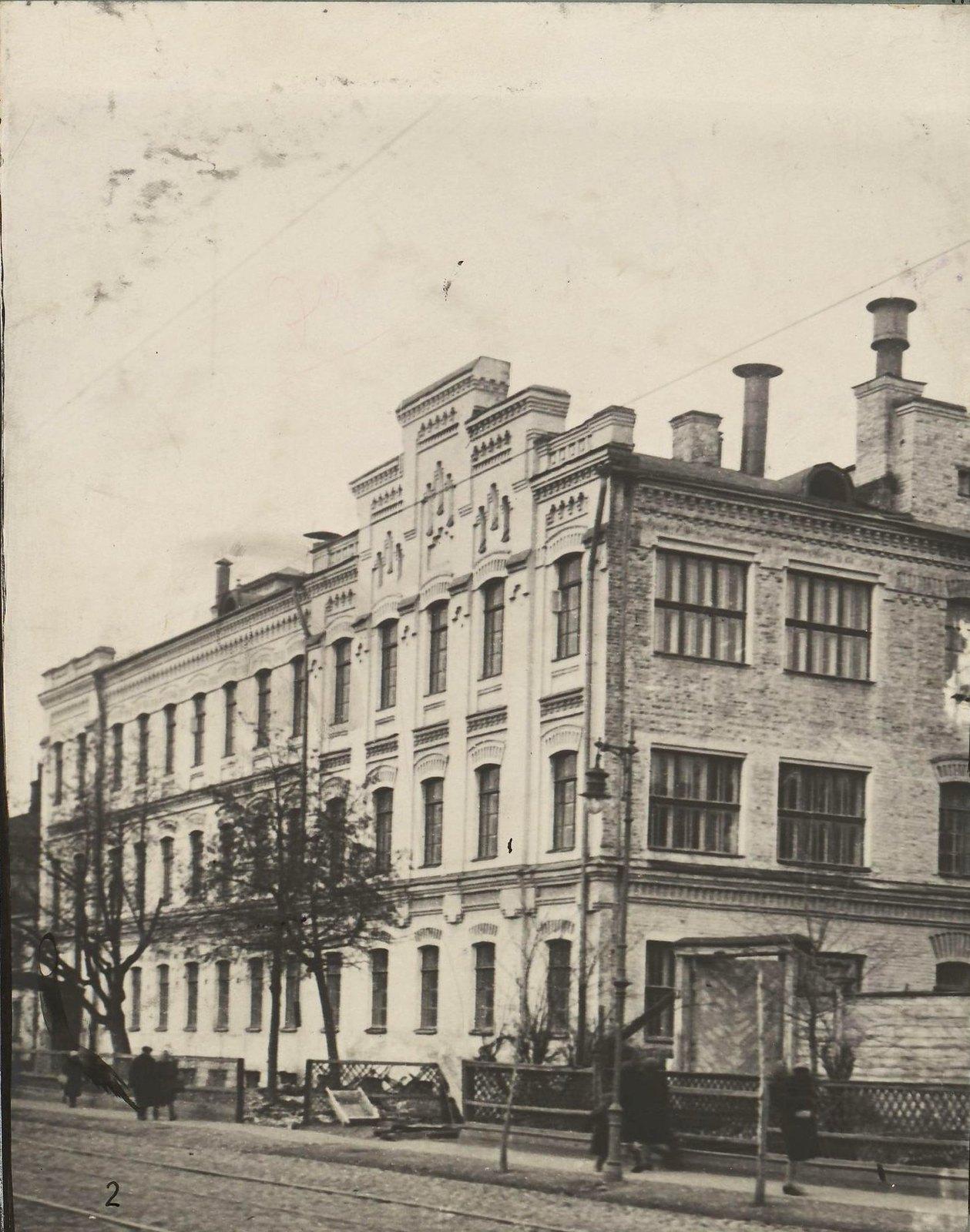 Москва. Фабрика-кухня (Кожевническая ул.)