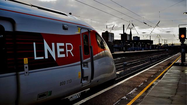 LNER 800113 at Doncaster