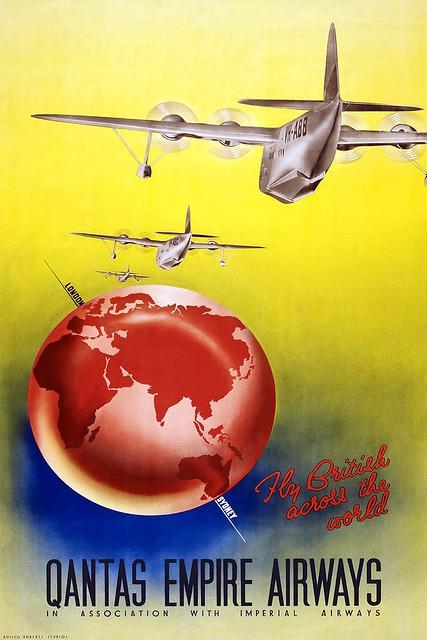 QANTAS EMPIRE AIRWAYS - 1938