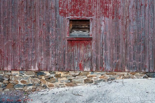 Wooden Red Garage