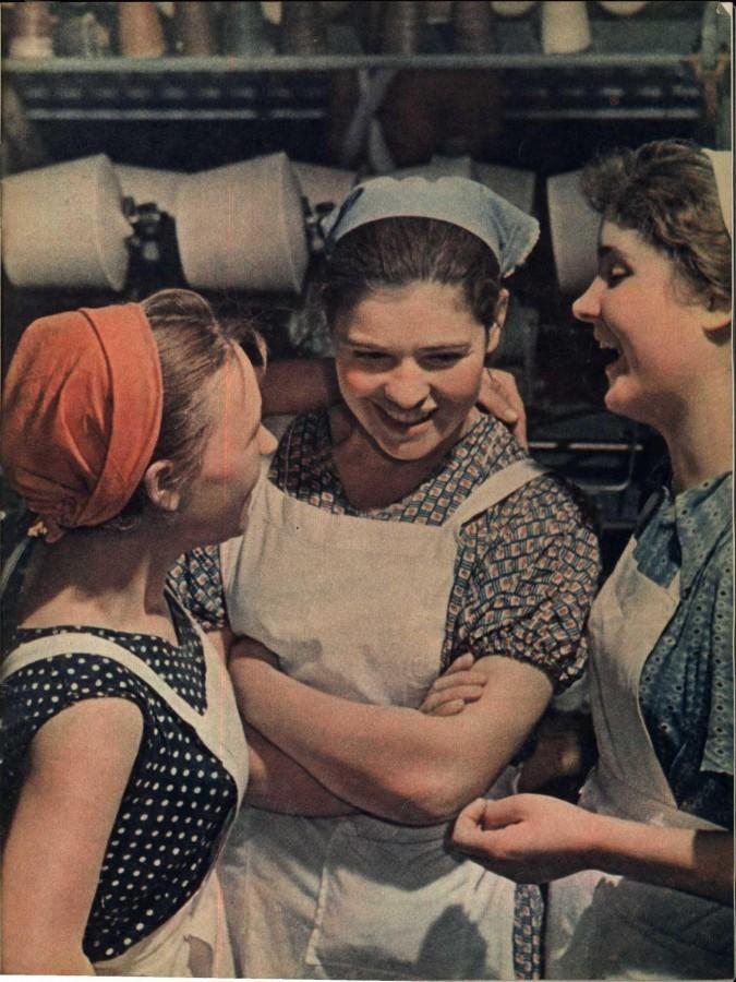 Из серии «Рабочая краса или как выглядели рабочие девушки в СССР». Часть 6 23