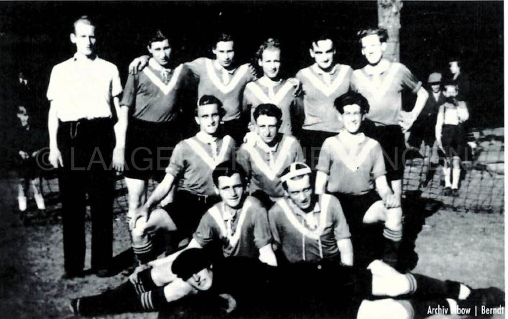 Eine der ersten Handballmännermannschaften