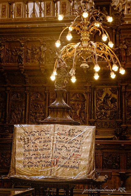 Libro cantoral (Catedral de Burgos)