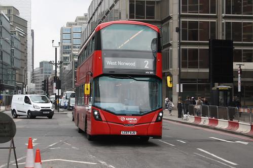 Arriva London HV391 LC67AJU
