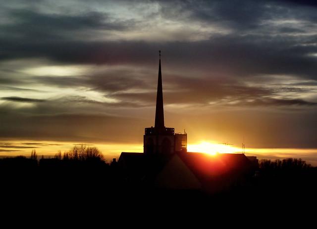 Sonnenuntergang um 16.45 Uhr