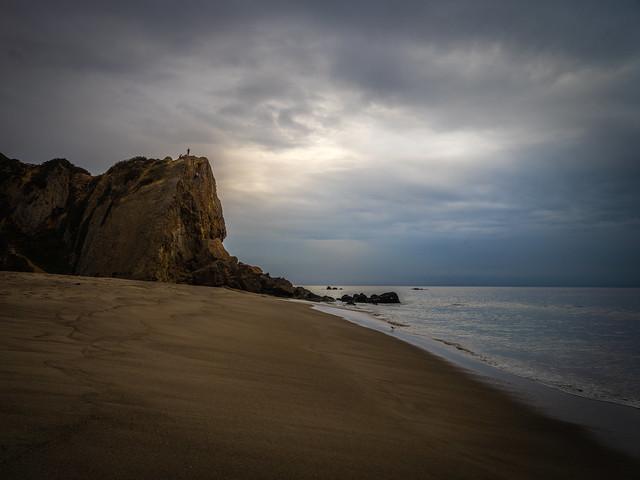Malibu Beach Point Dume Zuma Beach Winter Sky Fuji GFX100 Fine Art Landscape Ocean Art Seascape! Landscape Nature Photography! Master Medium Format Fine Art Photographer! Fujifilm GFX 100 & Fujinon Fujifilm GF 32-64mm f/4 R Lm Wr Wide-Angle Zoom Lens