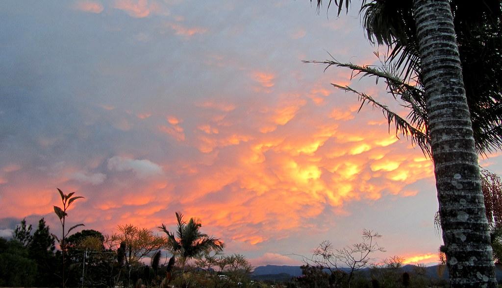 Sunset over Elanora.