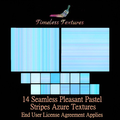 TT 14 Seamless Pleasant Pastel Stripes Azure Timeless Textures