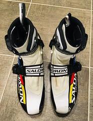 boty na běžky zn. SALOMON SKATE S-LAB PRO R-S17