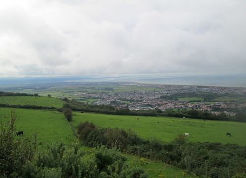 View from hill , Prestatyn, Wales