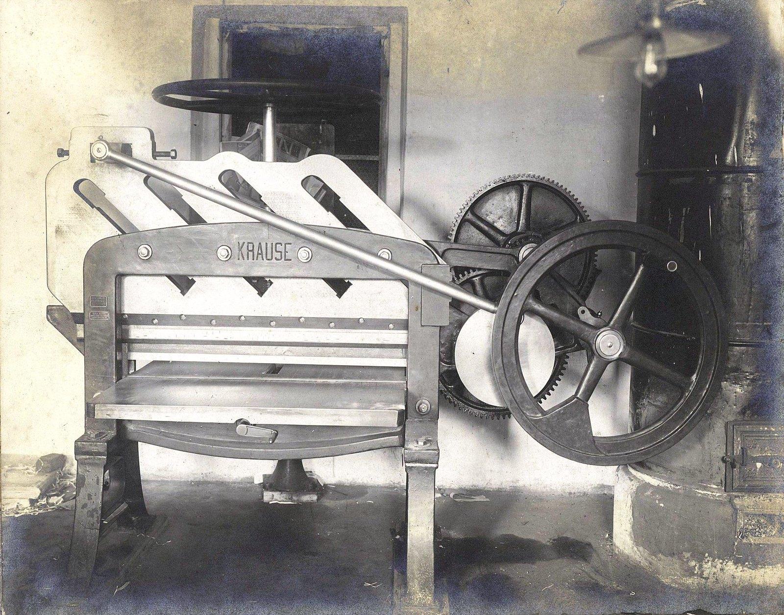 11. Печатный станок фирмы «Krause»