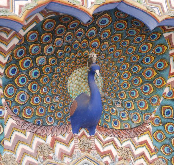 DSC_2567IndiaRajasthanJaipurCityPalacePeacockGateCentralePaauw