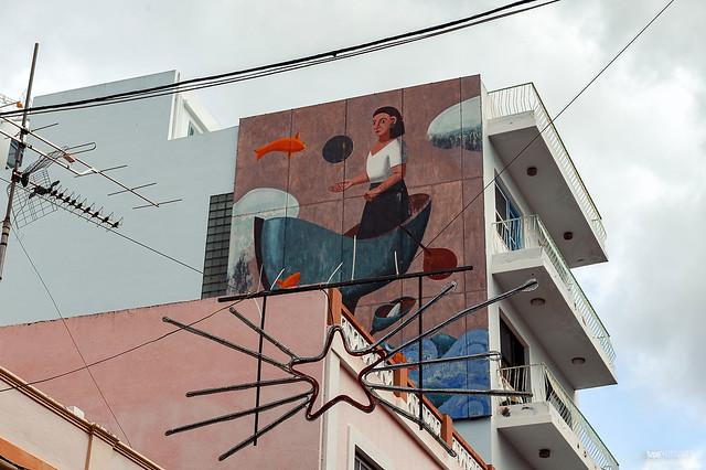 Kunst am Haus in Los Llanos de Aridane