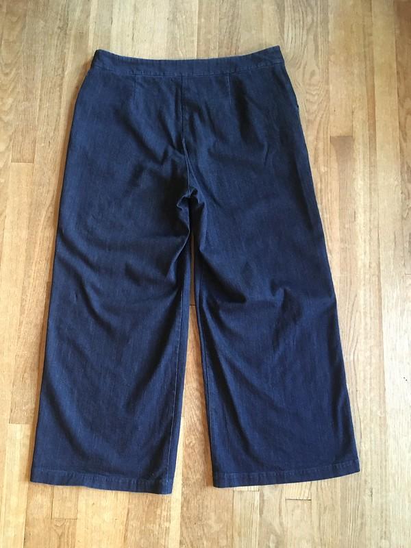 Sailor-Inspired Pants!  Simplicity 8391 in Denim