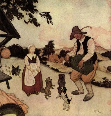 White Caroline and Black Caroline: A Flemish Fairy Tale