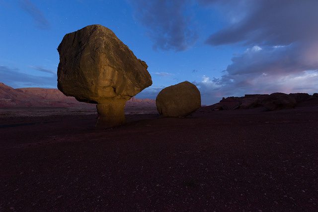 Evening Light in Marble Canyon