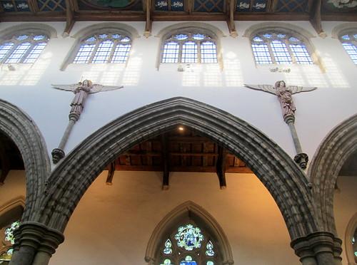 Auckland Castle, Chapel, Clerestory Detail