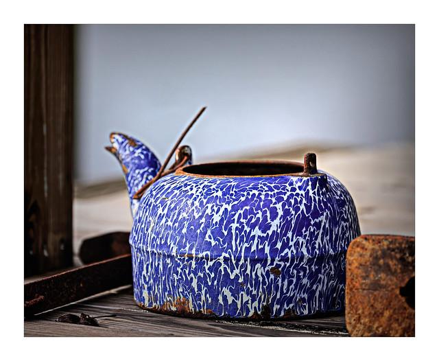Teapot in Blue