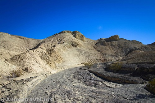 Approaching the end of 20 Mule Team Canyon, Death Valley National Park, California